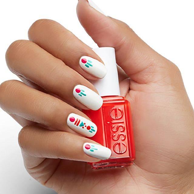 jungle jewelry - nail art - essie looks