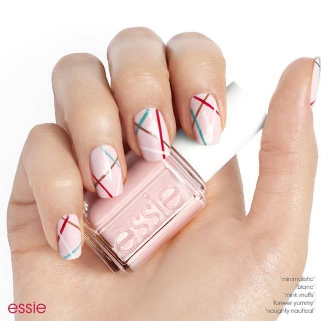 step 1: hydrate with apricot cuticle oil. - Line Dance - Nail Art - Essie Looks
