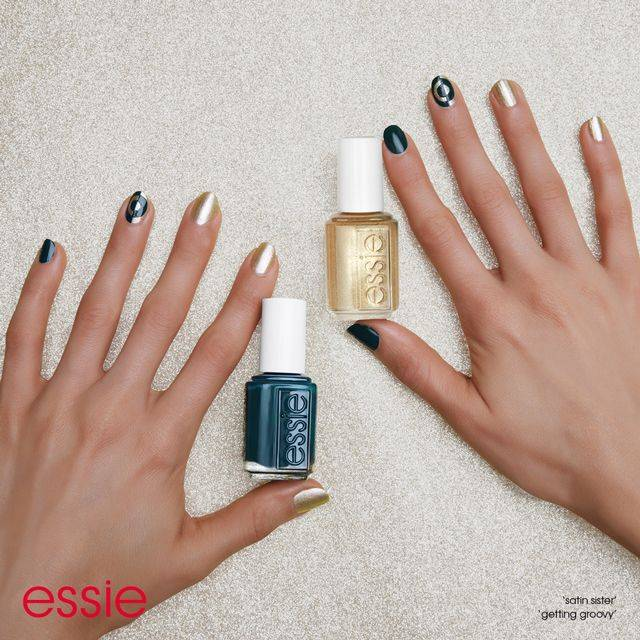 mind the gap - nail art - essie looks