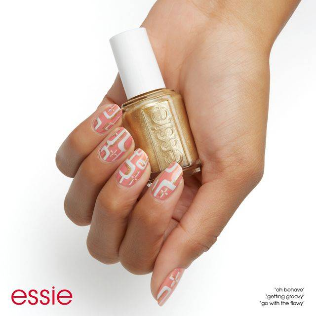 mod for you - nail art - essie looks