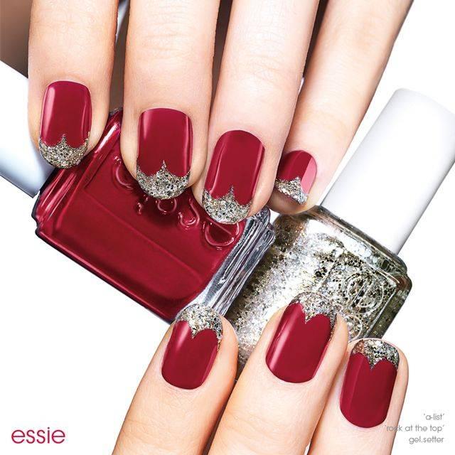 red carpet starlet - nail art - essie looks