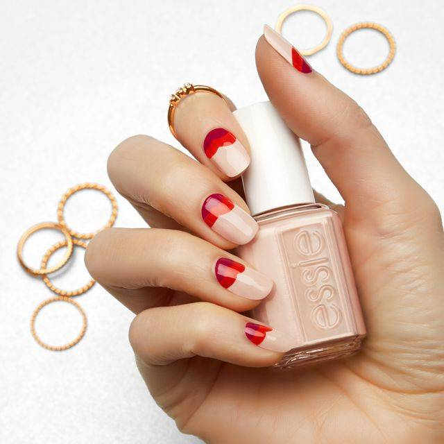 sweet swirl- nail art - essie looks