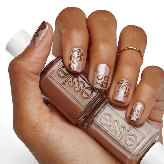Nail art nail designs ideas looks inspiration essie nail art wild at heart nail art prinsesfo Image collections