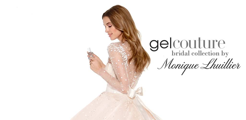 gel couture bridal nail polish collection by Monique Lhuillier - essie