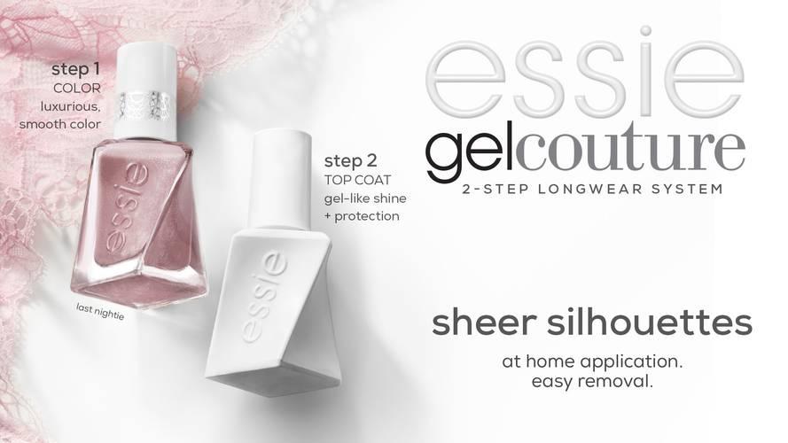 Gel Couture Sheer Silhouettes Longwear Nail Polish Essie