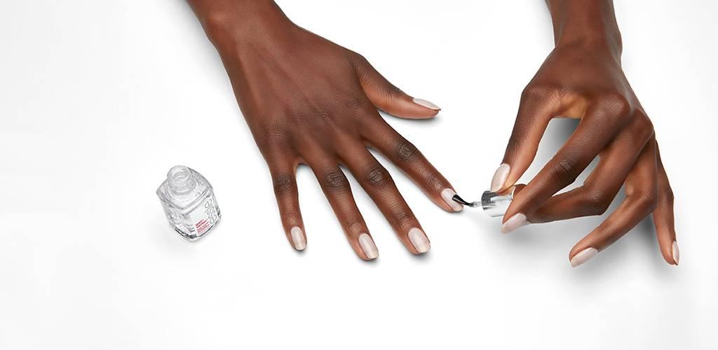 base coat nail polish & top coat nail polish - essie