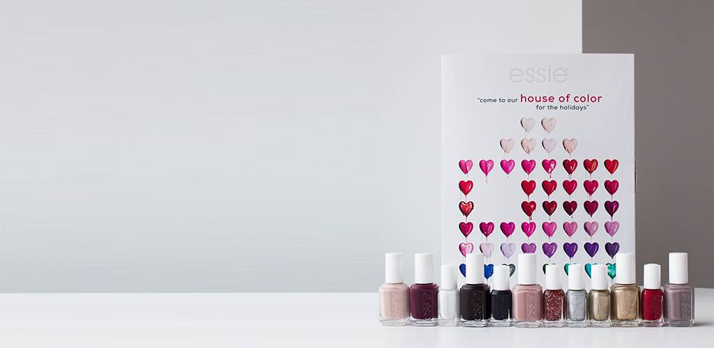 win an exclusive essie advent calendar kit