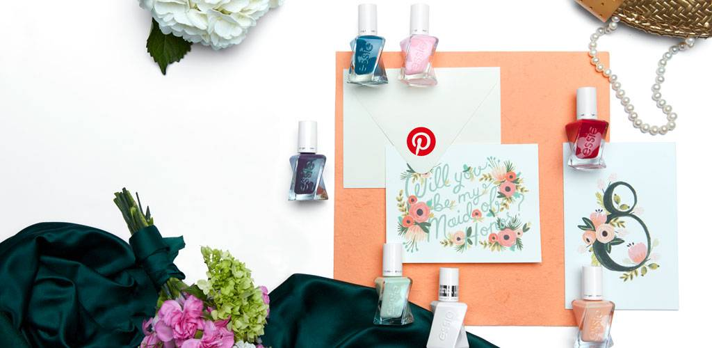 log into pinterest. find your nail polish match.
