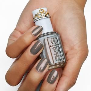 social-lights - metallic gray nail polish & nail color - essie
