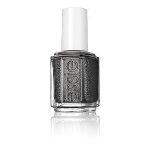 tribal text-styles - black glitter nail polish & nail color - essie