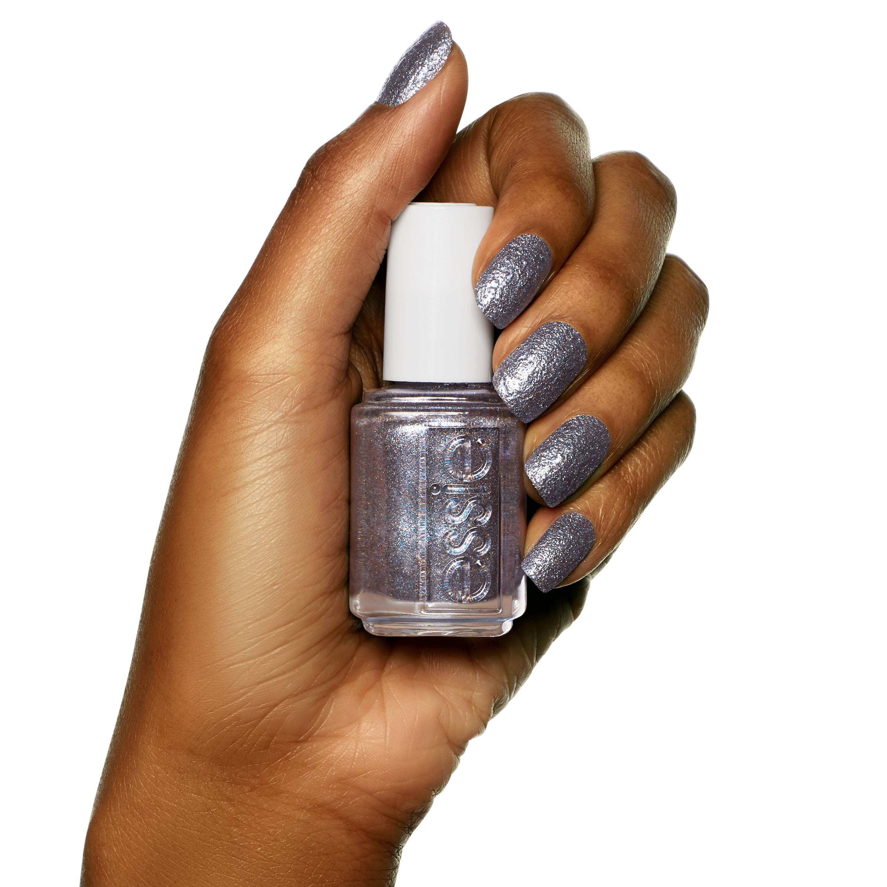 ESSIE-stay-up-slate-grey-glitter-nail-polish-on-hand
