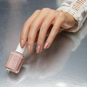 lady like - elegant soft mauve nail polish & nail color - essie