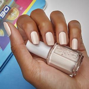 mixtaupe - ivory white & pink nail polish, color & lacquer - essie