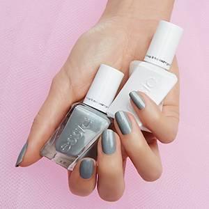 closing night - shimmery gray gel nail polish, nail color & lacquer ...