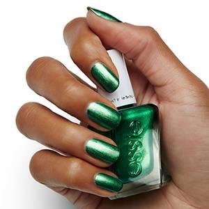 jade to measure emerald green gel nail polish & nail color - essie