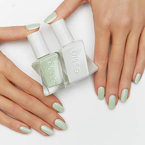 zip me up - mint green gel nail polish, nail color & lacquer - essie