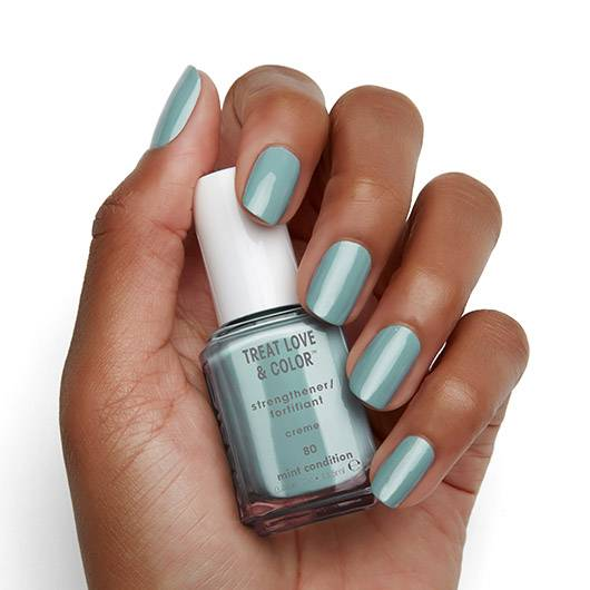 mint condition - treat love & color nail care & nail polish - essie