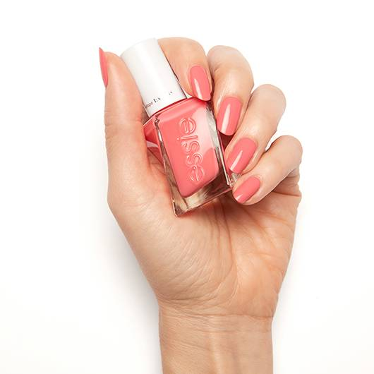 signature smile - pink rose gel nail polish, color & lacquer - essie