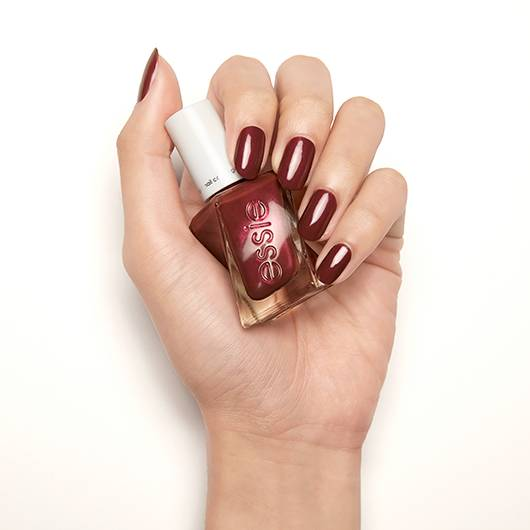 pearls of wisdom - mulberry pearl gel nail polish & nail color - essie