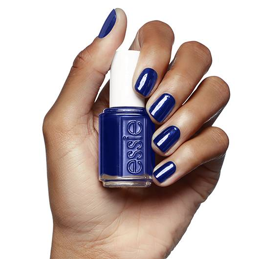 midnight cami - midnight blue nail polish & nail color - essie