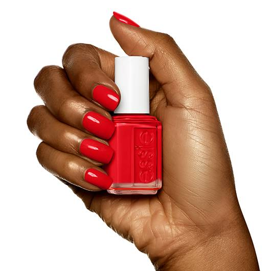 lacquered up - crimson red nail polish, nail color & lacquer-essie