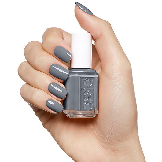 Petal Pushers Stone Rose Grey Nail Polish Nail Color Essie