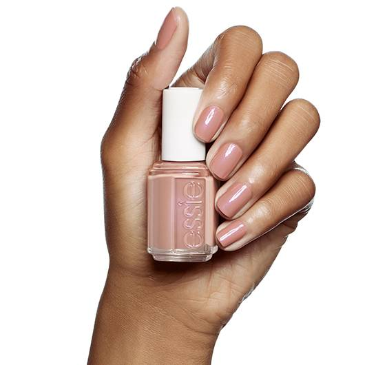 demure vix - cocoa mauve nail polish & nail color - essie