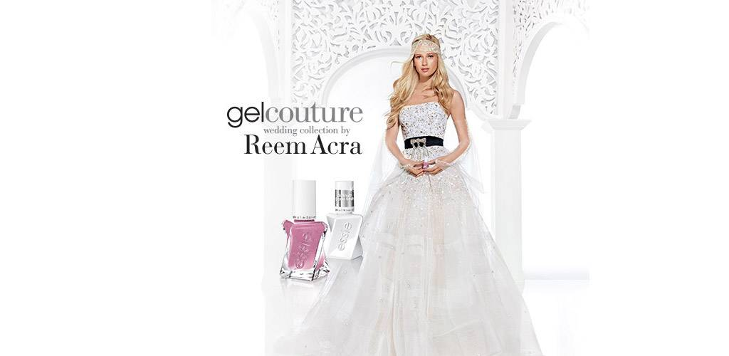 gel couture wedding collection by Reem Acra