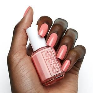 perfect mate - coral pink nail polish & nail color - essie