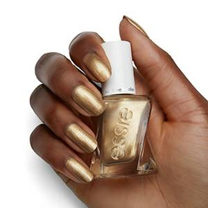 you\'re golden - metallic gold gel nail polish & nail color - essie