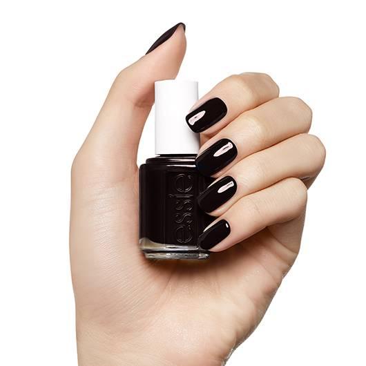 wicked - deep & dark creamy red nail polish & nail color - essie