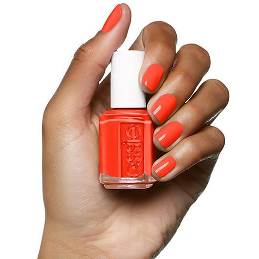 Geranium Red Orange Nail Polish Nail Color Nail Lacquer Essie