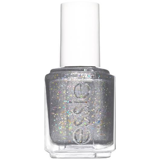 Making Spirits Bright Silver Glitter Nail Polish Essie
